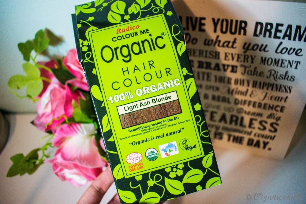 Radico Organic Hair Color