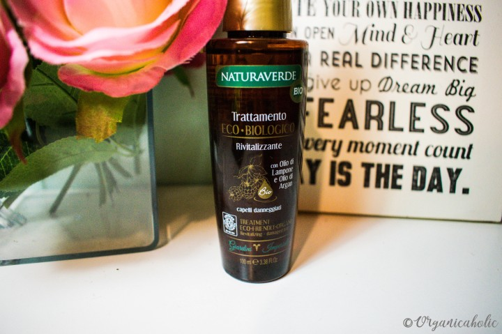Naturaverde Organic Hair Oil