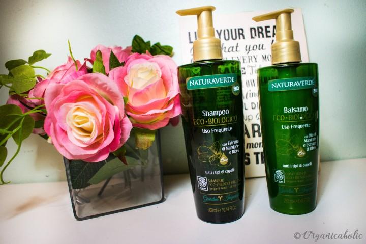 Naturaverde Organic Shampoo and Conditioner