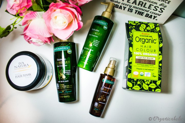My Organic Hair Care Routine