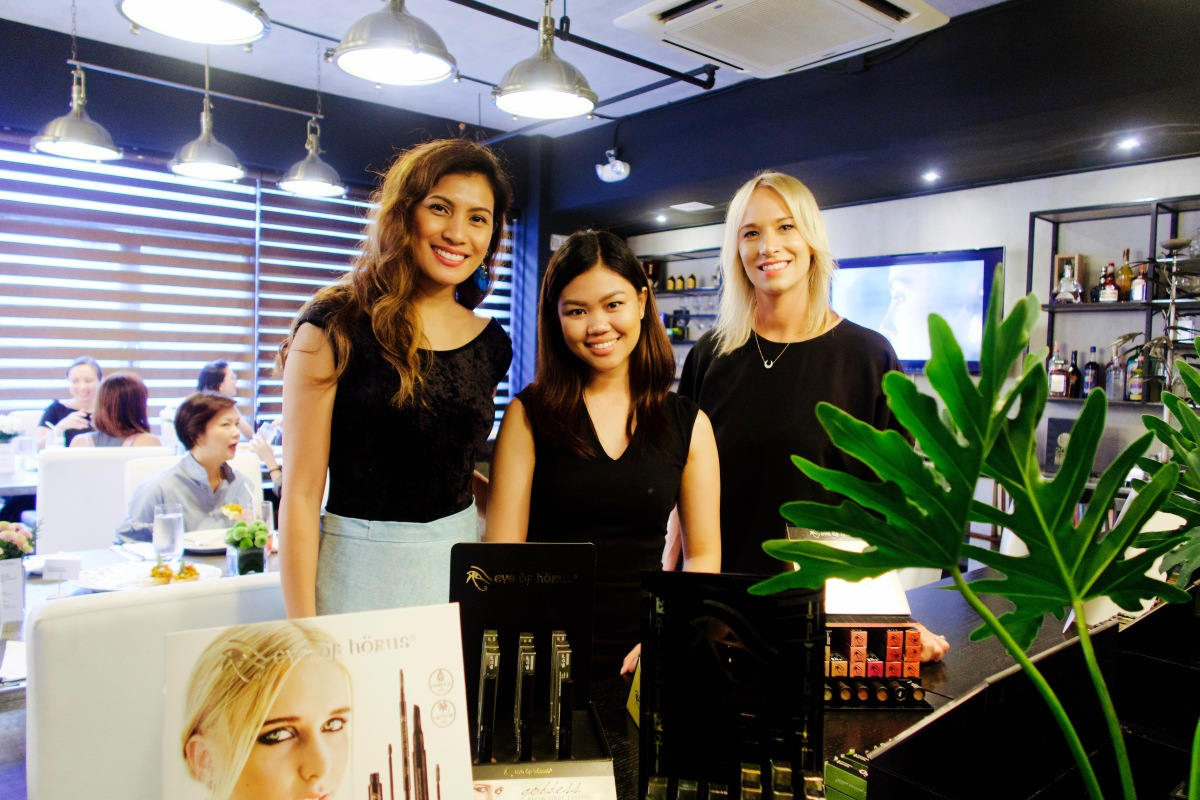Eye of Horus BIO Makeup Launch